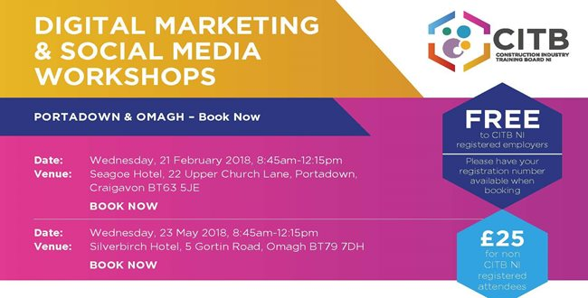 Digital Marketing & Social Media Workshops
