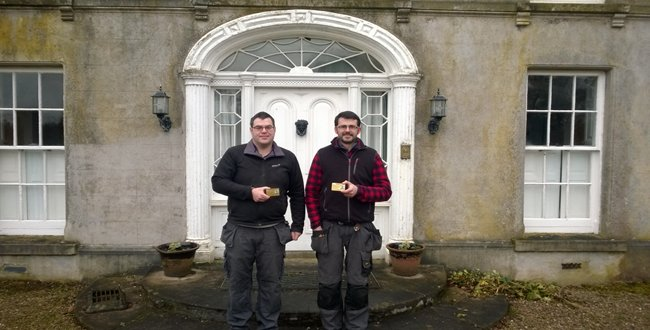 Local company achieves first Heritage endorsed Construction Skills Register Card